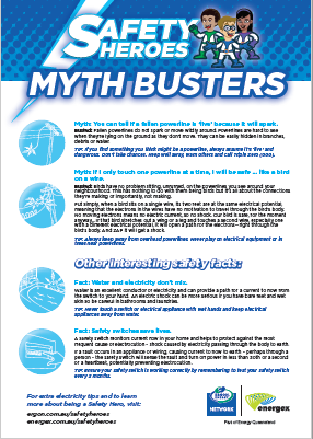 Safety Hero myth busters