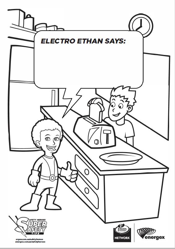 Electro Ethan Toaster Safety