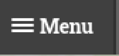 Three lines with the word Menu