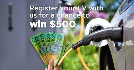 Win $500 EV registration image