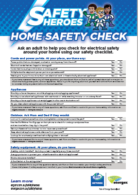 Safety Hero home safety check