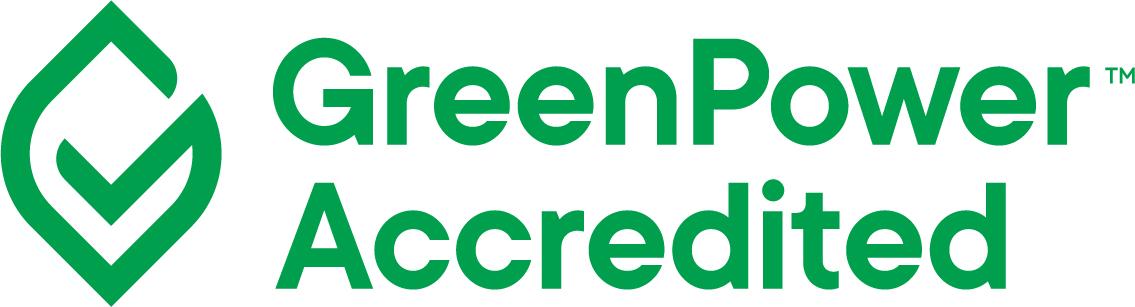 Green Power accredited logo