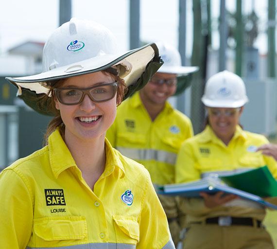 Ergon Energy Apprentice Louise