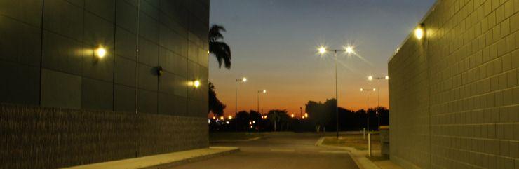 Tech Banner Streetlights