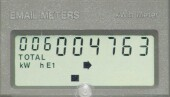 Electronic Digital Display Meter