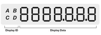 EM1000 Meter display